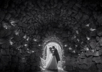 Grotto Wedding Photo