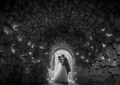 Grotto Wedding Photo