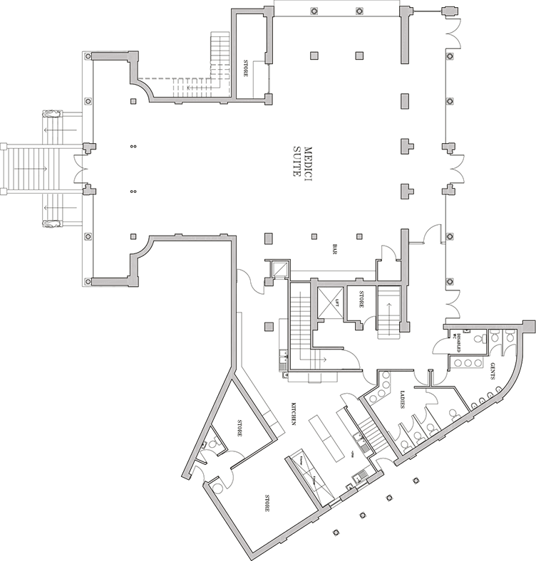 Floor plans the italian villa for Italian villa plans