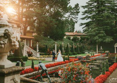 Italian garden - Samantha Davis