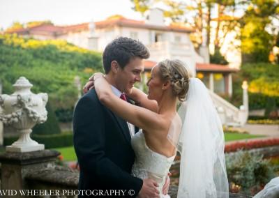 Bride-&-Groom-Garden-Wedding - David Wheeler Photography