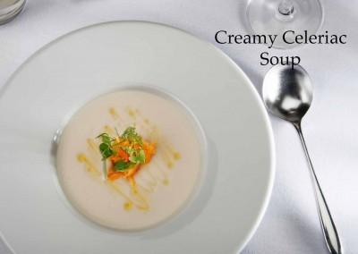 Creamy Celeriac Soup