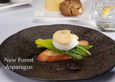 New Forest asparagus