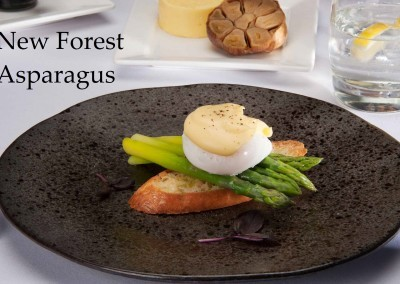New Forest asparagus