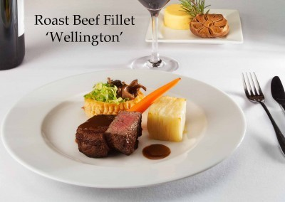 Roast beef fillet 'Wellington'