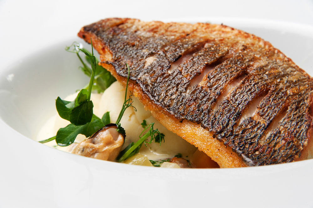 Roasted Bream Fillets