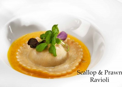 Scallop & Prawn Ravioli