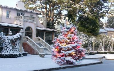White Christmas at The Italian Villa