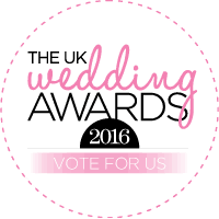 Shortlisted for UK Wedding Awards 2016!
