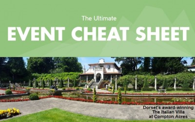 The Ultimate Event Cheat Sheet – How to host your next event in Dorset