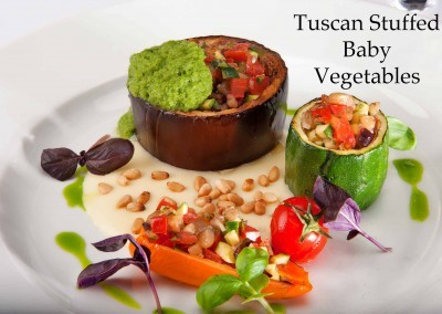 Tuscan Stuffed Baby Vegetables