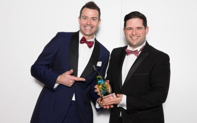 The Italian Villa celebrates win at the South West Tourism Awards