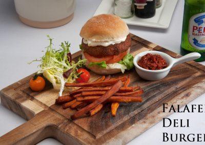 Falafel Deli Burger-web