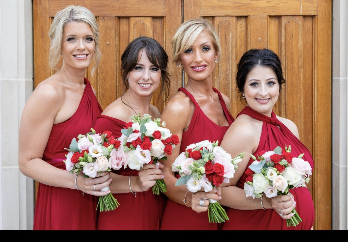 lauras-beautiful-bridesmaids-at-the-italian-villa-dorset-wedding-venue-hire